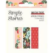 Apron Strings Washi Tape - Simple Stories - PRE ORDER