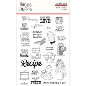Apron Strings Photopolymer Clear Stamps - Simple Stories