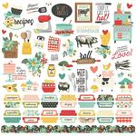 Apron Strings Cardstock Stickers - Simple Stories - PRE ORDER