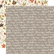 Harvest Wishes Paper - Cozy Days - Simple Stories - PRE ORDER