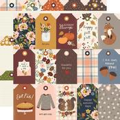 Tags Paper - Cozy Days - Simple Stories - PRE ORDER