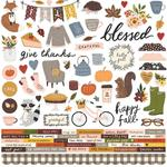 Cozy Days Cardstock Stickers - Simple Stories