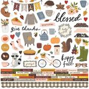 Cozy Days Cardstock Stickers - Simple Stories - PRE ORDER