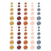 Cozy Days Enamel Dots Embellishments - Simple Stories - PRE ORDER