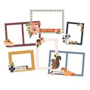 Cozy Days Layered Chipboard Frames Die-Cuts - Simple Stories