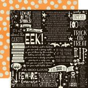 Boo Crew Paper - Cast A Spell - Simple Stories