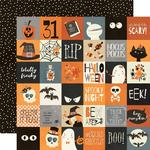 "Boo Crew Paper - 2"" x 2"" Elements - Simple Stories"