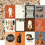 "Boo Crew Paper - 3"" x 4"" Elements - Simple Stories - PRE ORDER"