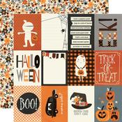 """Boo Crew Paper - 3"""" x 4"""" Elements - Simple Stories"""