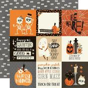 """Boo Crew Paper - 4"""" x 4"""" Elements - Simple Stories"""