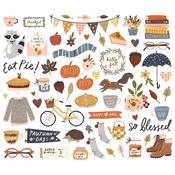 Cozy Days Bits & Pieces Die-Cuts - Simple Stories
