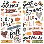 Cozy Days Foam Stickers - Simple Stories - PRE ORDER