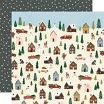 Winter Cottage Paper - Winter Wonderland - Simple Stories  - PRE ORDER