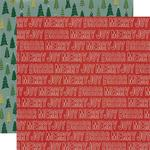 Winter Cottage Paper - Merry & Bright - Simple Stories  - PRE ORDER