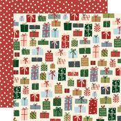 Winter Cottage Paper - Season of Wonder - Simple Stories  - PRE ORDER