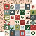 "Winter Cottage Paper - 2"" x 2"" Elements - Simple Stories  - PRE ORDER"