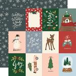 "Winter Cottage Paper - 3"" x 4"" Elements - Simple Stories  - PRE ORDER"