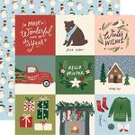 "Winter Cottage Paper - 4"" x 4"" Elements - Simple Stories  - PRE ORDER"