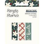 Winter Cottage Washi Tape - Simple Stories  - PRE ORDER