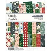 "Winter Cottage Double-Sided Paper Pad 6""x 8"" - Simpler Stories  - PRE ORDER"