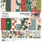 Winter Cottage Collection Kit - Simple Stories  - PRE ORDER