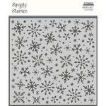 Winter Cottage Stencil - Simple Stories