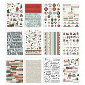 Winter Cottage Sticker Book - Simple Stories  - PRE ORDER