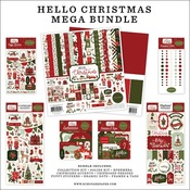 Hello Christmas Mega Bundle - Carta Bella - PRE ORDER