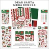 Dear Santa Mega Bundle - Carta Bella Our BRAND NEW Mega Bundle includes one each of the Collection Kit, Solids Kit, Ephemera, Frames & Tags, Chipboard Accents, Chipboard Phrases, Puffy Stickers and Enamel Dots.