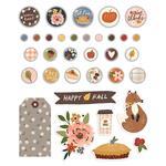 Cozy Days Decorative Brads - Simple Stories