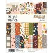 Cozy Days 6x8 Double-Sided Paper Pad - Simple Stories