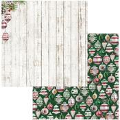 Ornaments Paper - Joyful Christmas - Bo Bunny - PRE ORDER