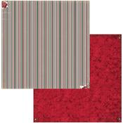 Stripe Paper - Joyful Christmas - Bo Bunny - PRE ORDER