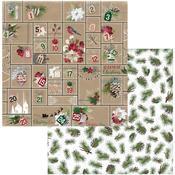 Advent Paper - Joyful Christmas - Bo Bunny - PRE ORDER