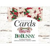 Joyful Christmas A2 Cards W/Envelopes - Bo Bunny - PRE ORDER