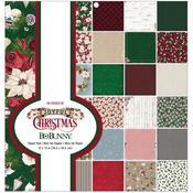 """Joyful Christmas 12""""X12"""" Paper Pad - Bo Bunny"""