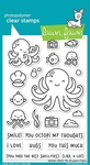 Ocean Shell-fie Clear Stamps - Lawn Fawn