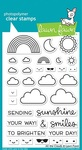 All The Clouds Clear Stamps - Lawn Fawn