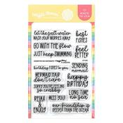 Under The Sea Sentiments Stamps - Waffle Flower Crafts - PRE ORDER