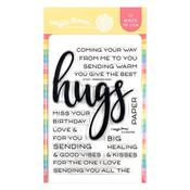 Oversized Hugs Stamp Set - Waffle Flower Crafts - PRE ORDER