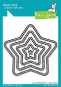 Just Stitching Stars Dies - Lawn Fawn