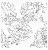 Fanciful Roses Background - My Favorite Things