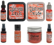 Crackling Campfire Distress Bundle - Tim Holtz