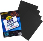 "Black - Crayola Project Premium Construction Paper 9""X12"""