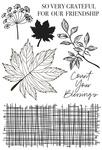 Fallen Leaves - Kaisercraft Clear Stamp