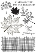 Fallen Leaves - Kaisercraft Clear Stamp