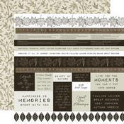 Frosty Fields Paper -  Fallen Leaves - KaiserCraft - PRE ORDER