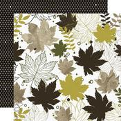 Crunchy Leaves Paper -  Fallen Leaves - KaiserCraft - PRE ORDER