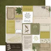 Cosy Corner Paper -  Fallen Leaves - KaiserCraft - PRE ORDER
