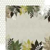 Morning Dew Paper -  Fallen Leaves - KaiserCraft